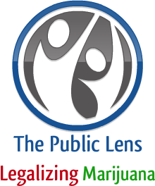 The Public Lens: Legalizing Marijuana logo